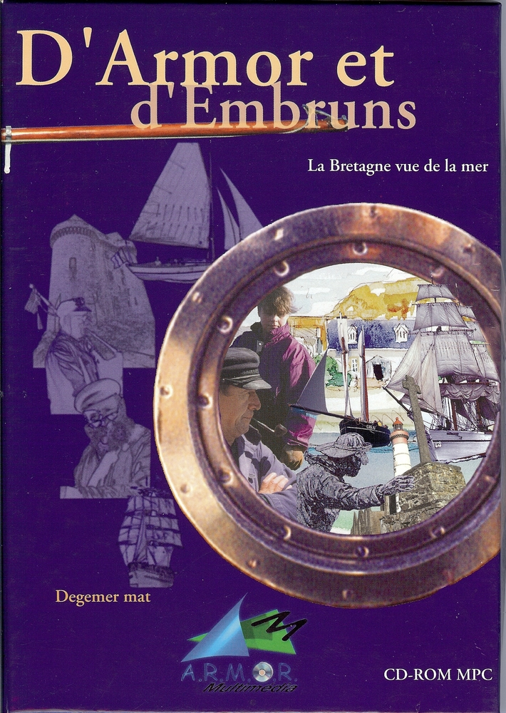 D'Armor et d'Embruns CD Rom
